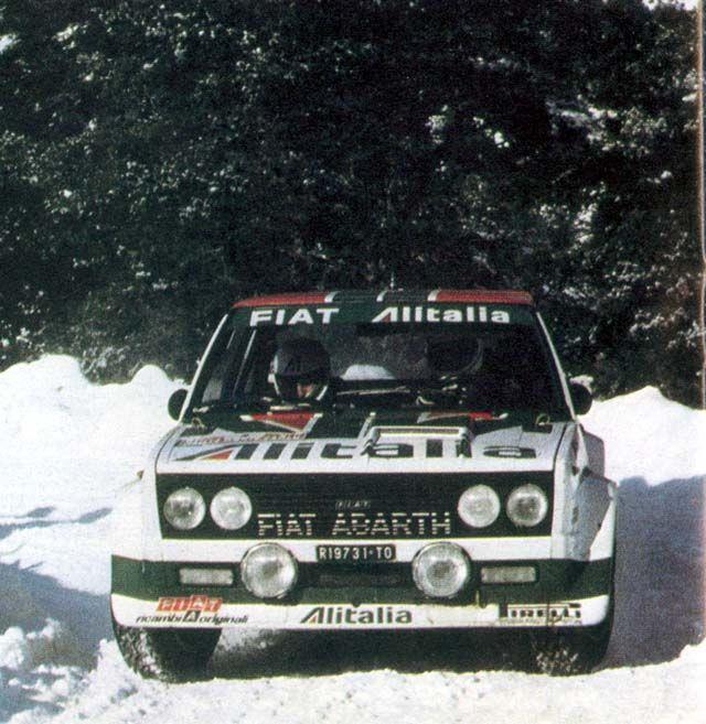 W. Röhrl - Fiat 131 Abarth (Montecarlo 78)