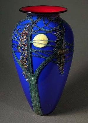 Beautiful blue vase!