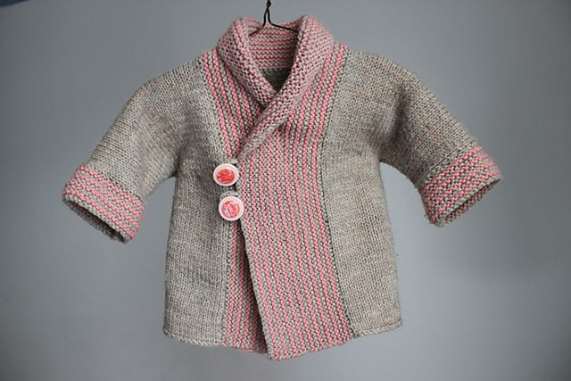 Shawl Collar Baby Coat