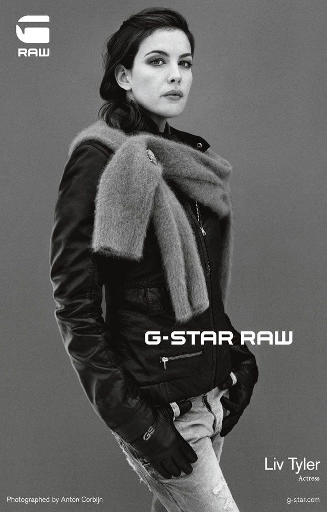 Liv Tyler by Anton Corbijn for G-Star Raw