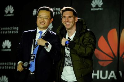 Welcome to Geophilworld's blog: #Connecting Greatness: Huawei appoints Lionel Mess...