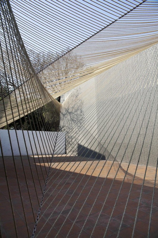 MMX, ECO PAVILLION 2011: string installations forever! #installation #mmx