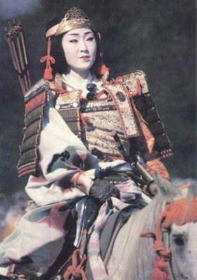 Onna bugeisha or female samurai