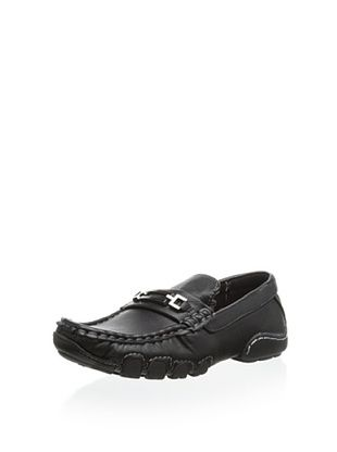56% OFF Joseph Allen Kid's Jonathan Slip-On Casual Shoe (Black)