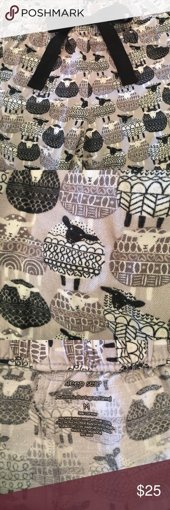 100% cotton flannel sheep pajama pants Super cozy flannel pajama pants! Adorable sheep print! Sleep Sense Intimates & Sleepwear Pajamas