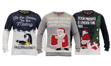 Men's Christmas Jumpers Men's Threadbare Novelty Christmas Jumpers for £14.99  >> BUY & SAVE Now!