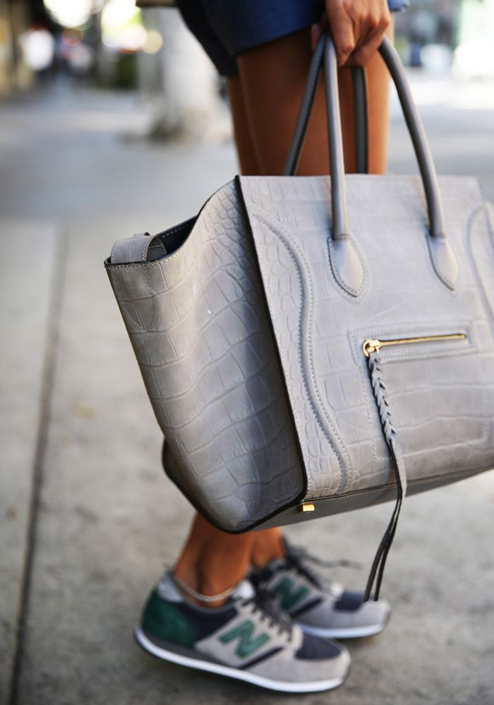 All grey everything #Celine