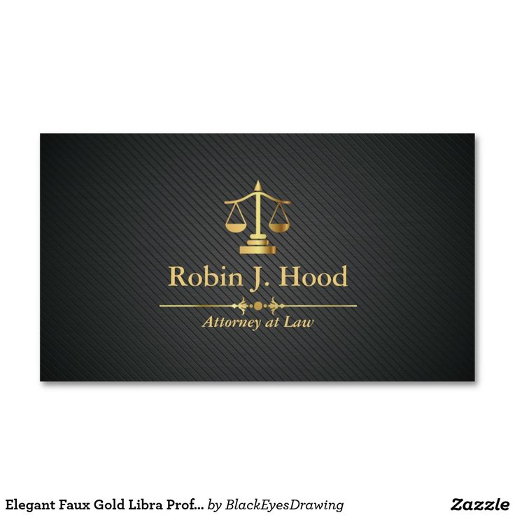 14 best Attorney / Lawyer Businesscards images on Pinterest ...