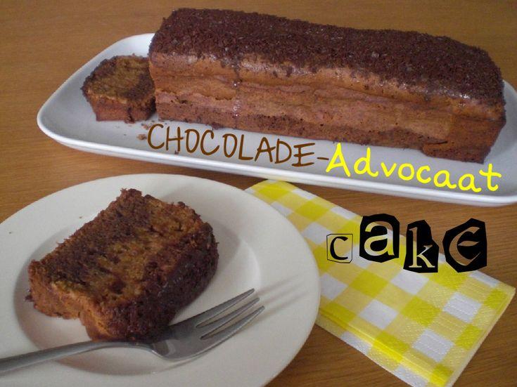 Recept: Chocolade-Advocaat CAKE