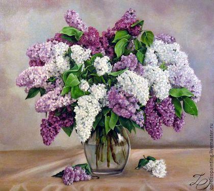 "Натюрморт ""Сирень"" - натюрморт,натюрморт с цветами,натюрморт маслом,цветы"