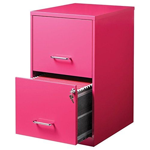 Pemberly Row 2 Drawer File Cabinet In Pink Filing Cabinet 2 Drawer File Cabinet Office Supplies Logo