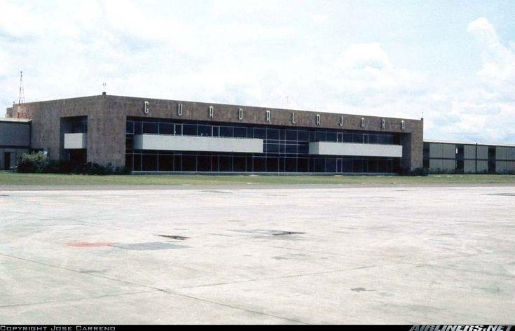 Aeropuerto de Guadalajara a finales de los 60's