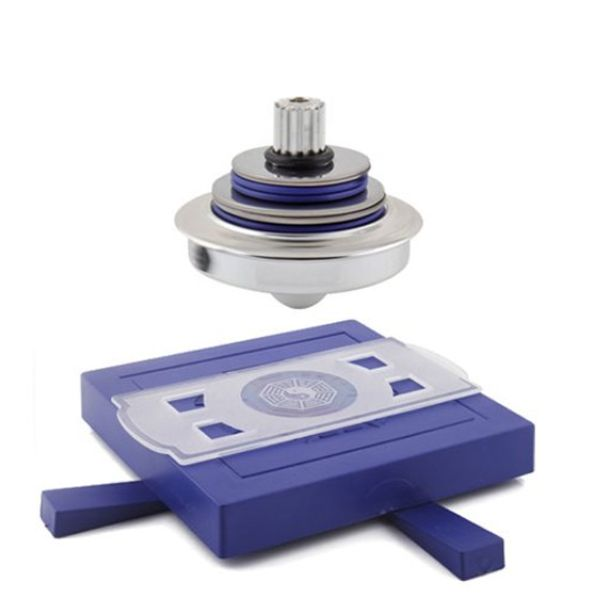 UFO Magnetic Levitation Spinning Gyroscope Suspension Science Toys             Description: UFO Magnetic Levitation Spinning Gyroscope Suspension Science Toys is based on principles of physics and the theory of fixed axis gyroscope developed maglev technology made an amazing educational toys, in...