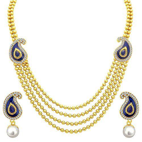 Dazzling Bollywood Style Gold Plated Blue Peacock Style T... https://www.amazon.com/dp/B06XN5CZQX/ref=cm_sw_r_pi_dp_x_c3Plzb9J1VQBG