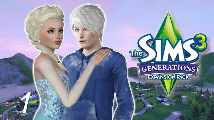Let's Play: The Sims 3 Generations | Part 1 | Introducing Jelsa ...