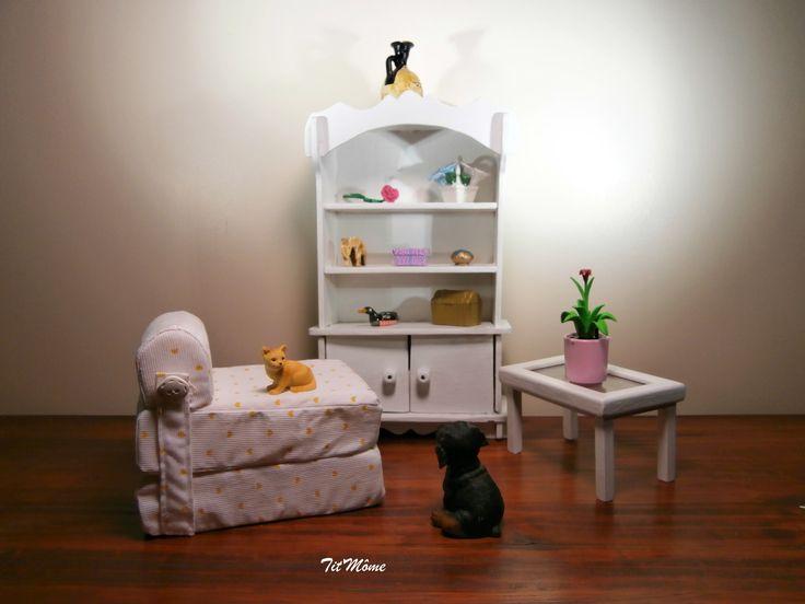 les 59 meilleures images propos de meubles pour poup e. Black Bedroom Furniture Sets. Home Design Ideas