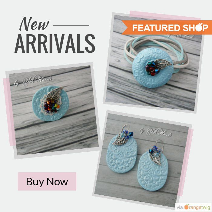 Looking for accessories for women or babies. Do drop in Etsy shop, SilkHands. Oksana Shaviak founded this shop to sell beautiful accessories.  She is using OrangeTwig to promote her products and discounts. To start promoting your products and discounts in such and many more designs.