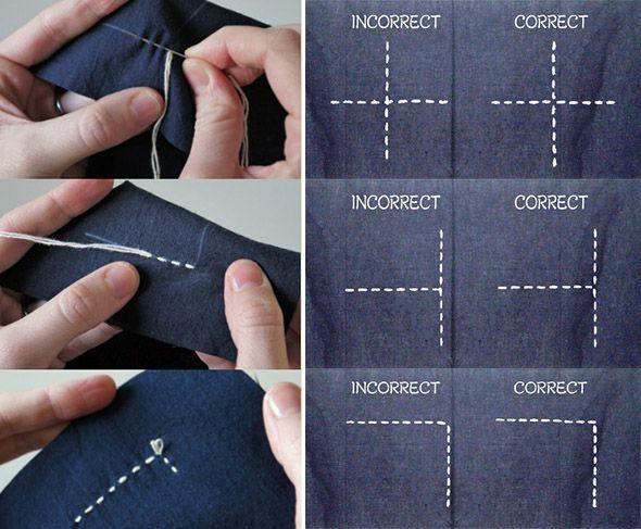 Sashiko, un bordado diferente / Sashiko, a different embroidery | mil dedales Más