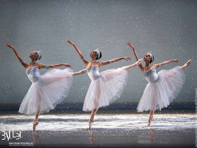 San Francisco Ballet - Snowflakes
