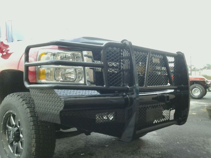 All the protection you could ask for!!  No worries with Ranch Hand Grill Guards found at OEM Truck Accessories!