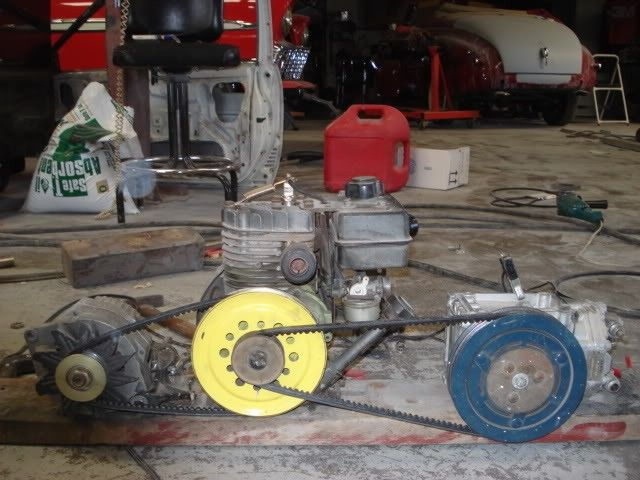 66 best images about homemade air compressors on pinterest for Motor driven air compressor
