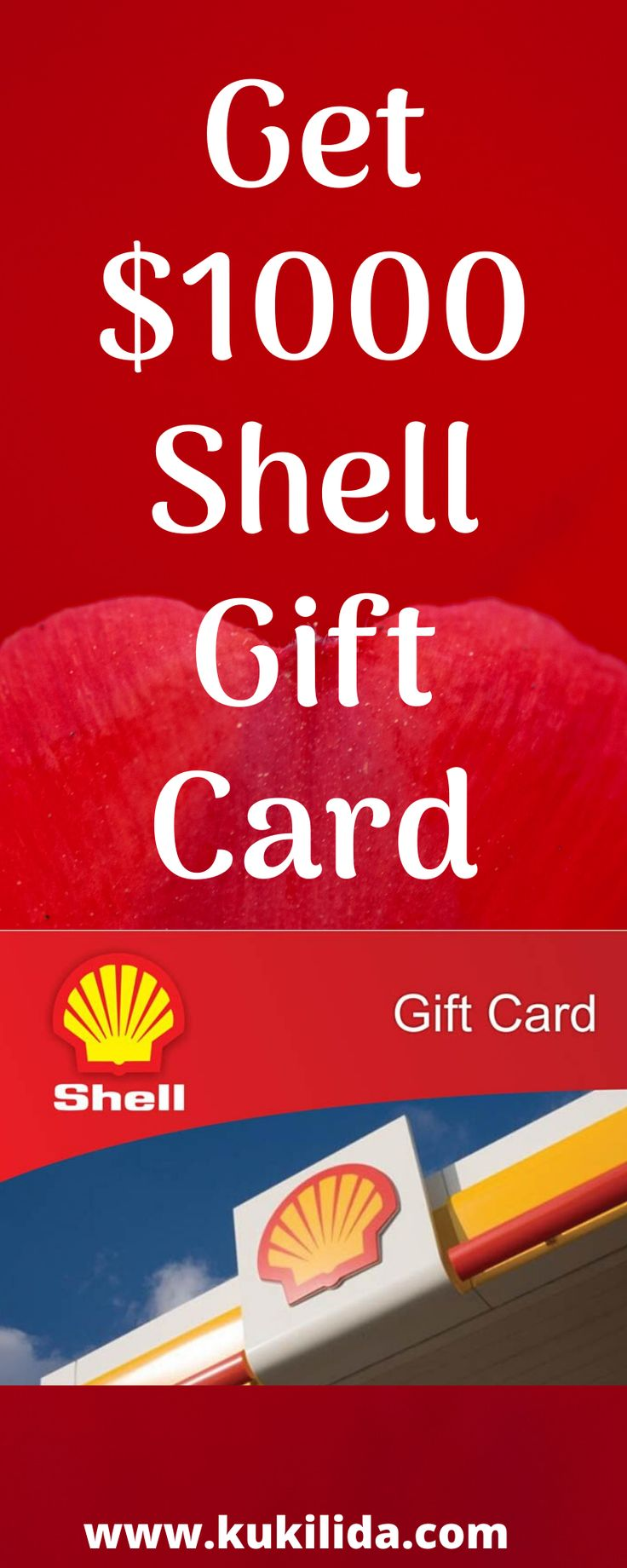 How to get 1000 shell gift card click the link below to