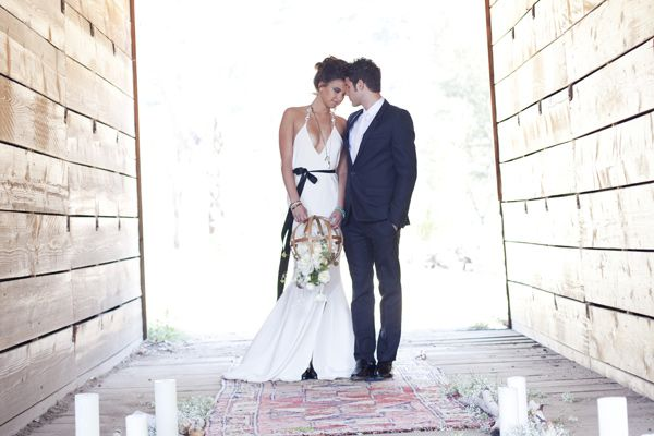 Bohemian Chic Wedding Inspiration- havnt considered a dress like this before!