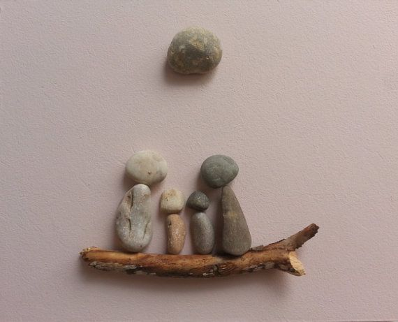 Stone people-Together by LiseStones on Etsy