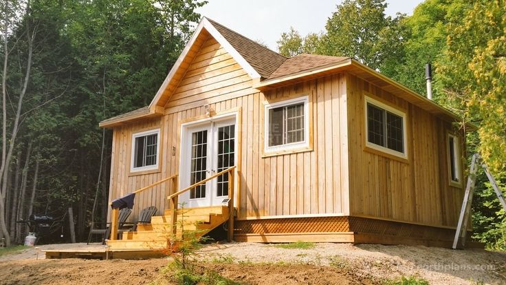 Our 20x24 garden shed plans can be your first cottage in any place