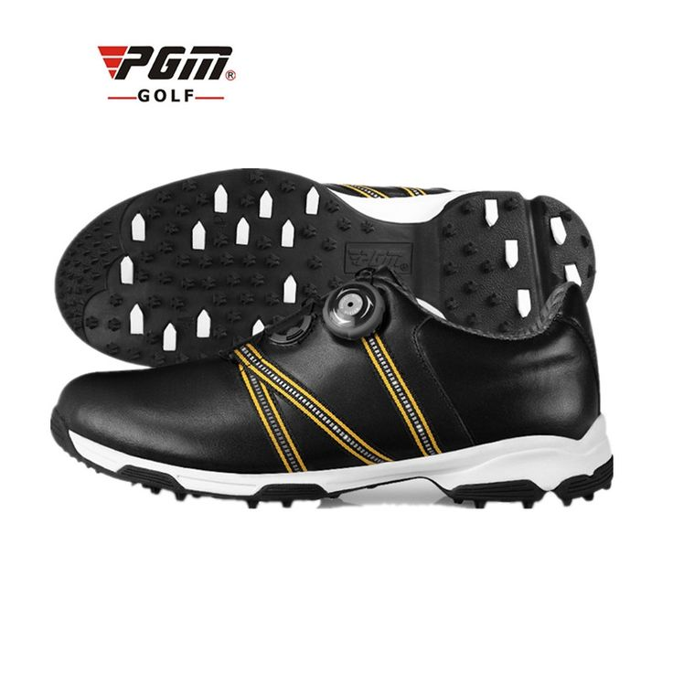 145.00$  Buy now - http://alintw.worldwells.pw/go.php?t=32725401805 - Zapatos De Golf Sale Women Eva 2017 New Pgm Golf Shoes Cowhide Anti-skid Groove Patent Breathable Microfiber Plus Waterproof  145.00$