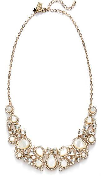 Beautifully intricate kate spade statement necklace #wishlist