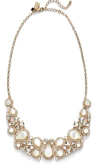 Beautifully intricate kate spade statement necklace #wishlist