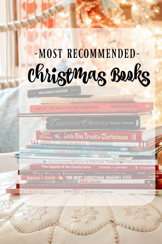 Most Recommended Christmas Books Christmas Bucket List Printable