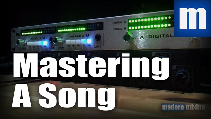 How To Master A Song