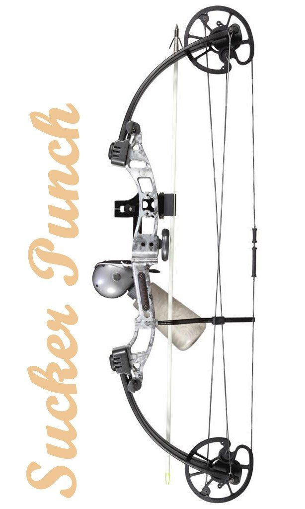 Cajun Sucker Punch Bowfishing Bow Kit 50 lbs. RH | Bowfishing Compound Bow Package