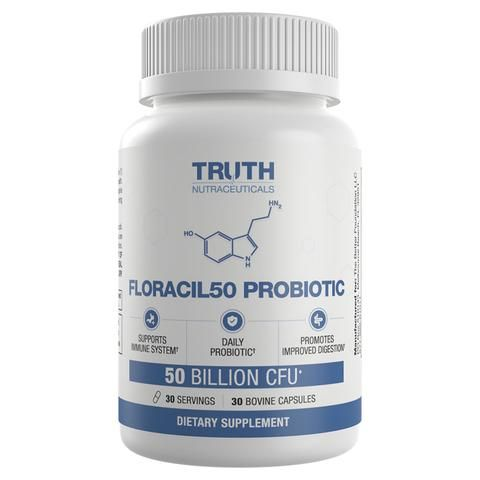 FLORACIL50 - Daily Probiotic With Lactobacillus Rhamnosus and Reuteri