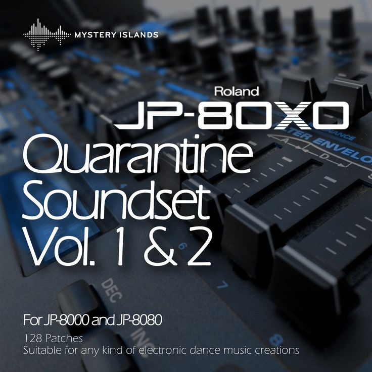 """Quarantine - """"The must have"""" soundset for JP-8000 & JP-8080 users! - http://www.mysteryislands-music.com/?p=4625"""