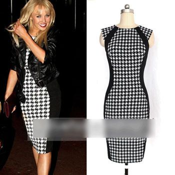 Find More Dresses Information about 2014 Woman Casual Clothes Sleeveless Slim Bandage Vestidos Vestidos Livre Elegant Atmosphere Bodycon Pencil Celebrity Dresses,High Quality Dresses from Global Trade Direct Ltd. on Aliexpress.com