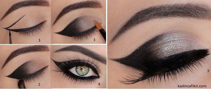 Bir makyajda eyeliner kullanmak, en az ruj kullanmak kadar onun tarzını belirleyecektir. Bunun için eyeliner'ı nasıl kullandığınız da önemli. Kullandığınız eyeliner, jel, kalem ya da likit eyeliner olabilir. Genellikle jel ve likit eyeliner ile simsiyah ve net bir sürüş yapabilirsiniz. Kalem ile ise, dumanlı göz makyajı, buğulu göz makyajı yapmak ve bunun yanında fardan da faydalanmak mümkün. Eyeliner sürme teknikleri aşama aşama resimli anlatımları ile tüm eyeliner sürme, eyeliner çekme ...
