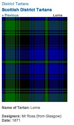 http://www.scotclans.com/whats_my_clan/district_tartans/scottish_district_tartans/lorne_tartan.html