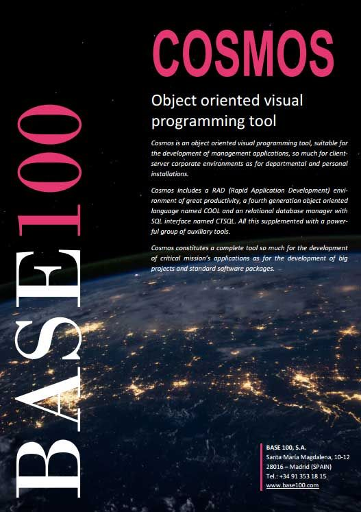 Cosmos is an object oriented visual programming tool