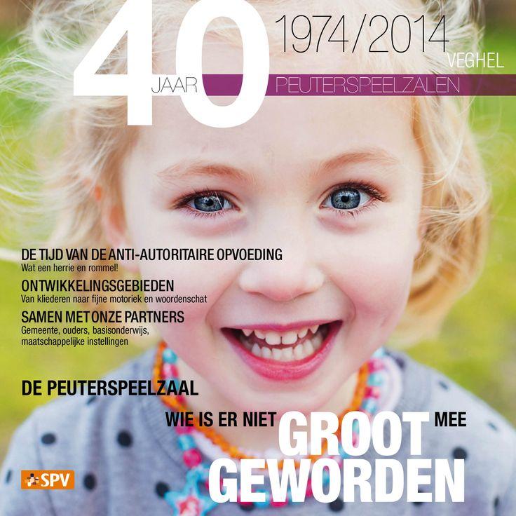 40 Jaar peuterspeelzalen brochure SPV