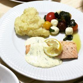 サーモンソテー☆レモンディルソース by 椛さん。 【クックパッド】 簡単おいしいみんなのレシピが280万品