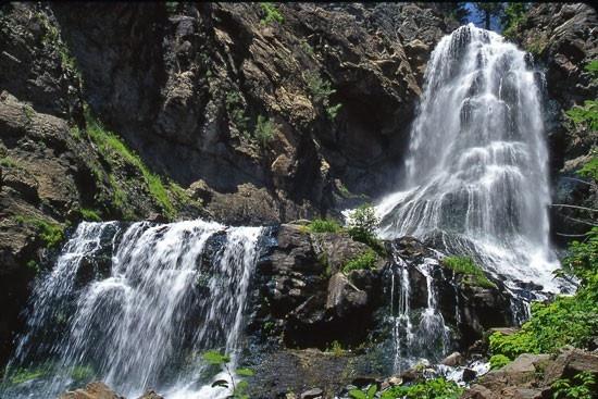 Silver Falls in Pagosa Springs, CO | Colorado springs ...