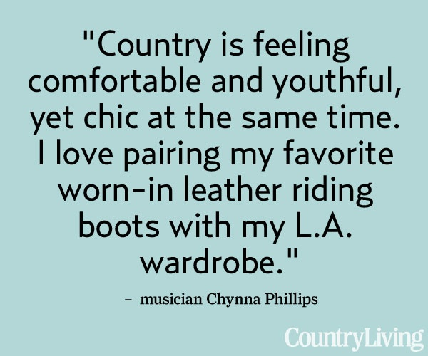 Quotes Country Living ...