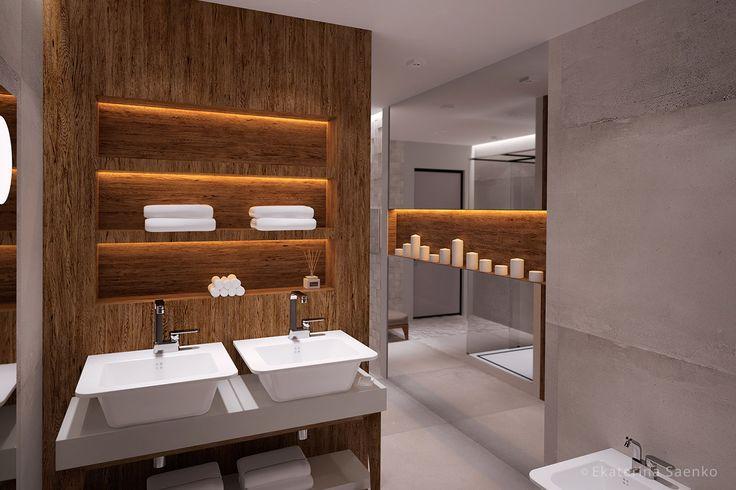 интерьер ванной комнаты 2017 современный, дома из контейнеров в спб