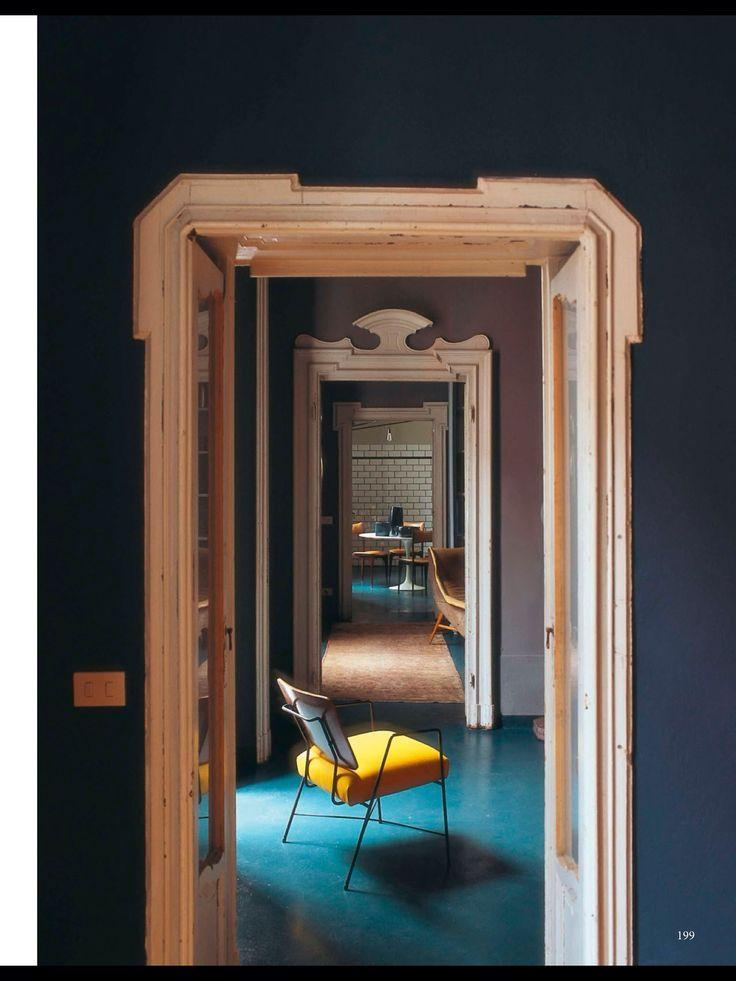 Apartment in Brera Milan refurbished by Emiliano