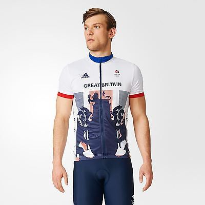 Adidas mens gents team gb #replica #cycling zip up jersey t #shirt tee top,  View more on the LINK: 	http://www.zeppy.io/product/gb/2/232022556367/