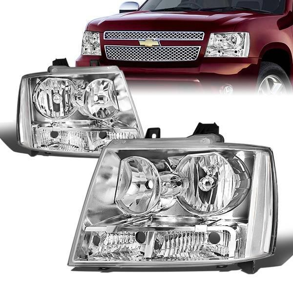 07 14 Chevy Tahoe Avalanche Suburban 1500 2500 Chrome Clear
