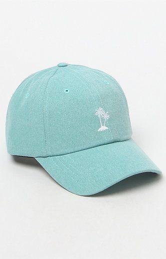 Court Mint Strapback Dad Hat